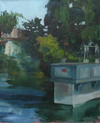 French Canal Diptych Panel Two